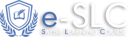 SAYBİR E-LEARNİNG COURSE